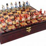 Juego de ajedrez de Alicia en el Pais de las Maravillas - Ajedrez de Fantasía