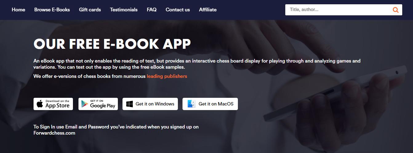 Sitio web y aplicación bien organizados y fáciles de usar