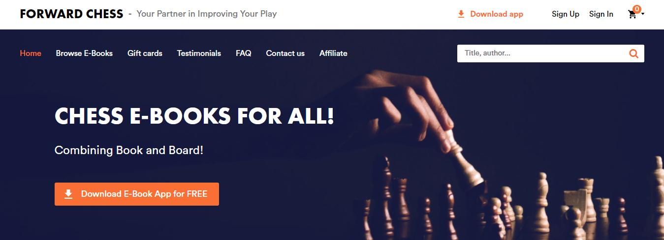 forward chess-libros de ajedrez online app