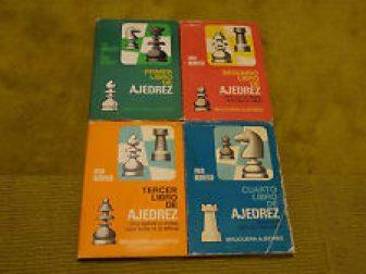 * 4 Libros de Ajedrez - Fred Reinfeld (Bruguera Ajedrez)