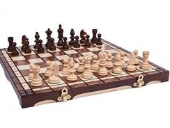 GRAN Artesanos de Madera OLÍMPICO juego de ajedrez 35×35 cm
