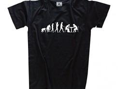 Camiseta de Ajedrez Evolución del Jugador de Ajedrez