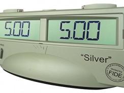 ChessTimer Silver Reloj de Ajedrez Digital certificado por la FIDE