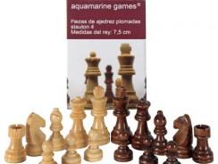 Piezas de Ajedrez Aquamarine Games – Stauton 4