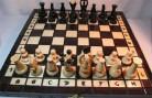 ChessEbook ROYAL 31 – Ajedrez de Madera, Tablero de 31 x 31 cm