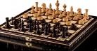 AJEDREZ OLÍMPICO de CEREZA y DAMAS – juego de ajedrez de madera 35cm/14 en a mano con damas