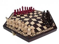 Chessebook – Ajedrez, para 3 jugadores 32 x 28 cm