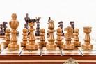 ÚNICO, grande – 37cm/14,6 en ajedrez artesanal de madera Set cerezas árbol