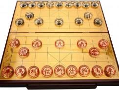 Juego de ajedrez chino de cristal