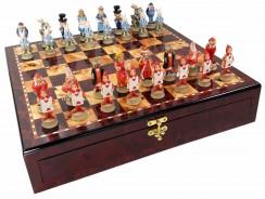 Juego de ajedrez de Alicia en el Pais de las Maravillas – Ajedrez de Fantasía