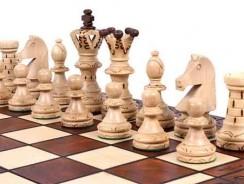 The Jarilo – Juego de ajedrez de madera único, piezas, tablero de ajedrez y almacenamiento