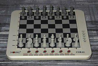 Ajedrez electrónico Chess computer Novag Coral