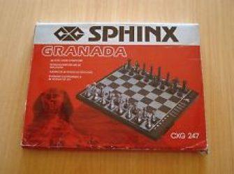Ajedrez Electrónico Granada CXG 247 Chess Computer (Sphinx)