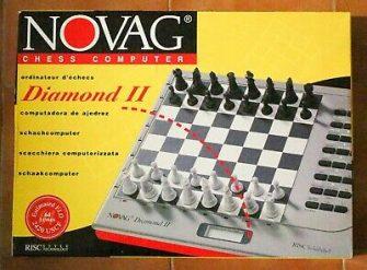 AJEDREZ ELECTRONICO NOVAG DIAMOND II - CHESS COMPUTER 2 ELO 2420 USCF...