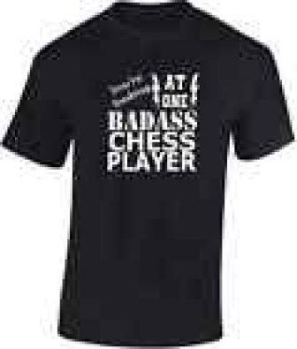 BADASS AJEDREZ PLAYER Camiseta Nueva Divertido IDEAL REGALO DE CUMPLEAÑOS