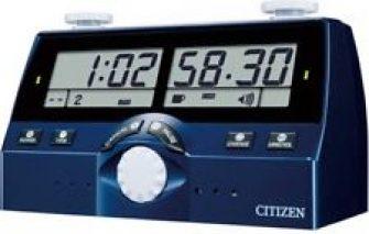 Citizen DIT-40 Reloj de Ajedrez Mundo Juegos Mesa Multilingüe Japón con