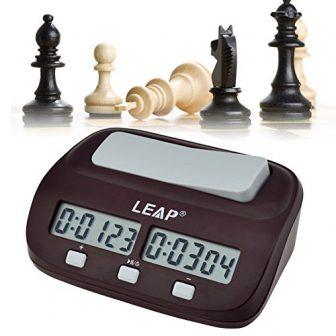 Ckeyin ® Reloj digital para jugar al ajedrez | Despertador para niños...