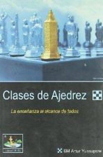 CLASES DE AJEDREZ. LIBRO NUEVO. ENVÍO URGENTE