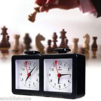 cuarzo analógico reloj de ajedrez I-Go CONDE Hasta Abajo temporizador para Juego