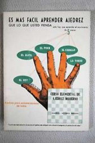 Curso elemental de ajedrez moderno / Vicente Maura, Gabriel