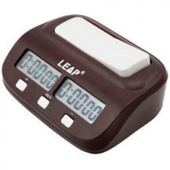 Digital Reloj de Ajedrez Conde Arriba Abajo Temporizador Electrónico Juego Mesa