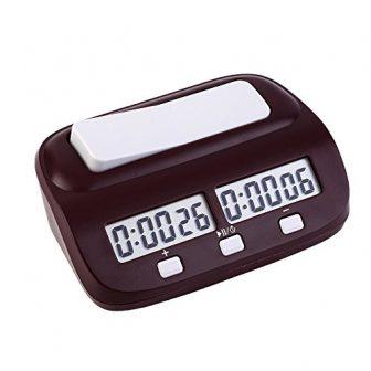 EgoEra® Profesional Digital Reloj de Ajedrez, Contador de Tiempo / Temporizador de...