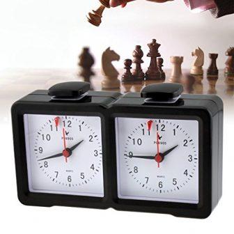 inkint Analógico Digital Multifuncional Relojes de Ajedrez/I-Go Reloj Reloj de Múltiples Funciones...