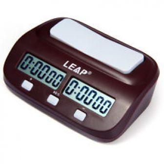 Leap PQ9907S Digital Reloj de Ajedrez I-Go Conde Arriba Abajo Timer para...
