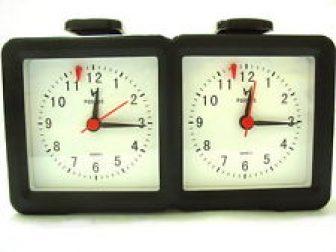Máster TORNEO analógico Competition Pro AJEDREZ JUEGO GAME Timer Reloj Pieza