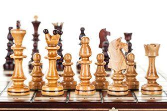 OLÍMPICO GRANDE - 40cm / 16en Handcrafted el ajedrez De madera Clásico...