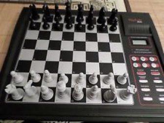 Ordenador ajedrez electronico Mephisto MeXs vintage Alemania / Chess computer