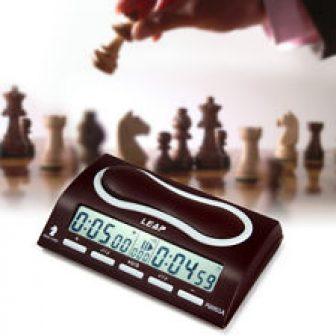 ORIGINAL LEAP pq9903a Omnipotent Reloj de ajedrez I-Go CONDE Arriba Abajo ROJO
