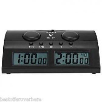 ORIGINAL pq9902 3 en 1 PROFESIONAL Reloj De Ajedrez Digital CONDE Up