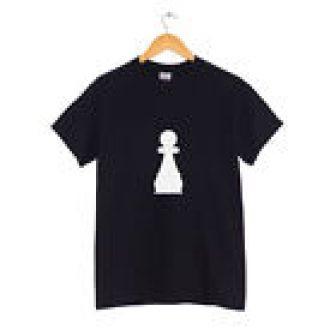 Peón Pieza de ajedrez Camiseta Muchos Colores Hipster Ropa