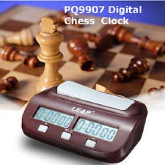 PQ9907 Digital Reloj digital ajedrez Garde Start I-go Chinese Chess Competencia