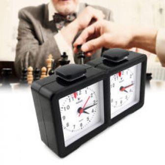 Reloj de Ajedrez Analógico Quarz para Ajedrcista Competencia Juego de Tablero