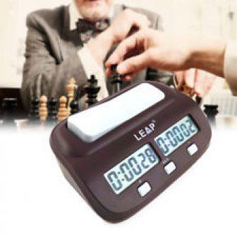 Reloj Digital Automático Inteligente para Ajedrez I-go Competencia Juego de Mesa
